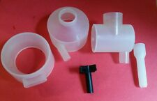 Cecilware Cappuccino Machine Dispense Whipping Chamber Parts 5 Pieces Cd63a