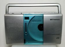 Emerson Portable CD Player Model # PD5098 AM/FM Radio Boombox - Works!