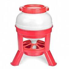 BIG 20 LITRE STURDY EUROPEAN STANDING FEEDER for Chickens HENS Chooks POULTRY