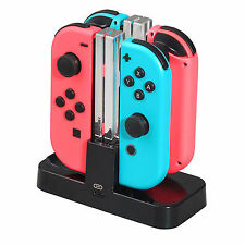 Charging Dock Station Charger Stand for Nintendo Switch Joy-con & Pro Controller
