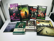 Lot (x8) The Walking Dead Books covers novels sketchbook chronicles