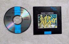 "CD AUDIO / ROMANCE VARIÉTÉS ""SALSA Y CADENZIA"" CD COMPILATION CARDSLEEVE 1989"