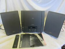 """TECHNICS SA-LS10 CD stereo sistema completo con altoparlanti & Remoto """"EX con"""""""
