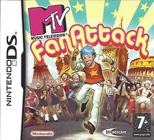 MTV FAN ATTACK for Nintendo DS NDS