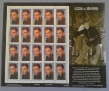US Stamps, 1999 Honoring Hollywood Legend James Cagney, MNH Sheet 20 # 3329
