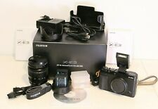 Fujifilm X-E3 - Cámara Evil de 24.3MP y kit cuerpo con objetivo Fujinon XF18-55