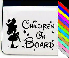 Children On Board Kids Lovely Vinly Decal Sticker Car Motorcycle Truck Wall