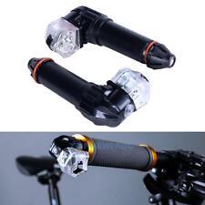 2x Fahrrad Blinker Lenkerblinker Lenkerendkappen Fahrradlicht Lenkerendenblinker
