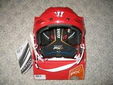 Warrior Covert PX+ Hockey Helmet PXPH6 – Red (Used) – Adult Small