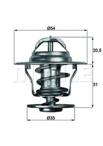 Thermostat Kühlmittel MAHLE TX 13 80D für 80 AUDI 100 VW PORSCHE SEAT OPEL 944 1