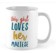MALTESE  GIFT MUG IDEAL PRESENT FOR MALTESE DOG LOVERS