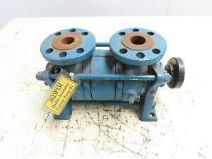 "SIHI LPHR 20107 AB AHF Liquid Ring Vacuum Pump 1-1/4x1-1/4"" Flanged 3Hp  *Parts*"