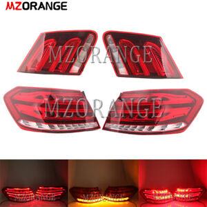 For Mercedes Benz 2010-2013 W212 E Class E350 E300 E250 E63 Sedan LED Tail Light