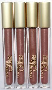 CoverGirl Queen Collection Colorlicious Spiced Latte Lip Gloss Q700 Lot of 4