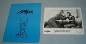 1986 The HITCHER PRESS KIT 9 PHOTOS C. THOMAS HOWELL RUTGER HAUER JENNIFER LEIGH
