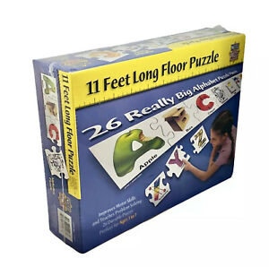Alphabet Floor Puzzle 26 Piece 11 Feet Floor Puzzle by Masterpieces USA SEALED