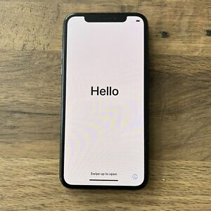 Apple iPhone X / 10 64GB Glossy Black - UNLOCKED - USED GREAT CONDITION