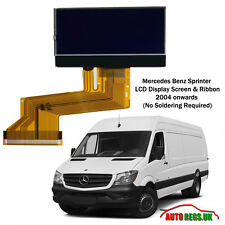 MERCEDES BENZ SPRINTER LCD VDO DISPLAY SCREEN for INSTRUMENT CLUSTER DASH NEW