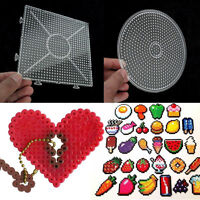 Fashion Perler Hama Beads Peg Board Pegboard Template Funny DIY Creative Craft