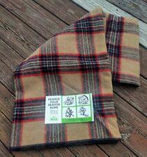 VTG Woolrich Pearce Four Season Robe Wool Stadium Throw Blanket 60 x 72 Decor