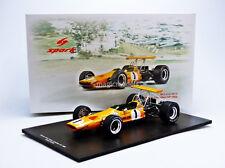 Spark McLaren M7A Winner GP F1 Canada 1968  D. Hulme #1 1/18 New! In Stock!