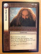 Lord of the Rings CCG Fellowship 1C10 Dwarven Heart X2 LOTR TCG