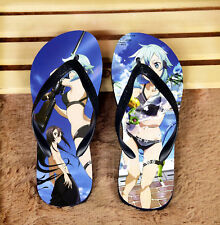 Sword Art Online Asina Anime flip flops Unisex Adult  Shoes Non-slip sandals#KY3