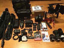 Nikon D800 36.3 MP Digital SLR Camera,Exec w/3 Lens/Flash,HUGE STUDIO ,W/MATTBOX