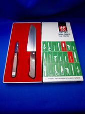 J.A. HENCKELS VTG Kitchen Knife & Peeler Set Made In Solingen Germany MINT COND.