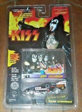 New Johnny Lightning KISS: #43 GENE SIMMONS Die-Cast w/Photo Card! Item# 152-00