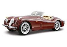 Bburago Jaguar XK 120 Roadster 1948 Model Silver 1 24