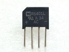 RS401L RECTRON BRIDGE RECT 1PHASE 50V 4A RS-4L 20 PIECES