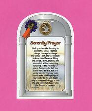 """Serenity Prayer"" Poem (long Version) Verse Card w Dove Penn -SKU# 799"