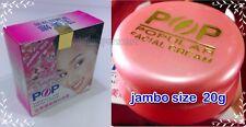 20g POP POPULAR Facial Cream Whitening Clear Freckle Acne Dark Spot Jumbo Size