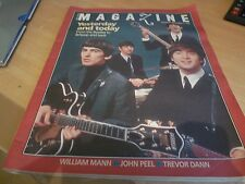 THE BEATLES - YESTERDAY AND TODAY - THE TIMES MAG' NOVEMBER 1995 - GREAT PHOTOS