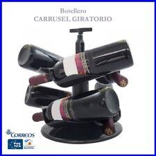 Carrusel Giratorio para 6 Botellas de Vino /Cava Sacacorchos incluido