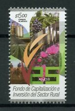 Mexico 2018 MNH Rural Sector Investment Fund 1v Set Trees Plants Nature Stamps
