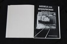English book Diesels and semaphores photo album Oxford railways train locomotive