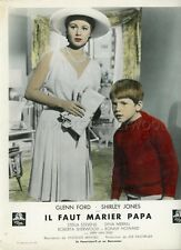 SHIRLEY JONES RON HOWARD THE COURTSHIP OF EDDIE'S FATHER 1963 LOBBY CARD