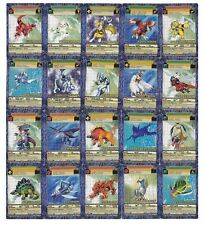 DIGIMON - DIGI-BATTLE BOOSTER SERIES 4 - COMPLETE COMMON SET 24 CARD LOT NM-Mint