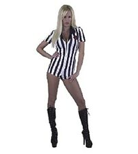 Sexy Referee Bodysuit Small Adult Costume