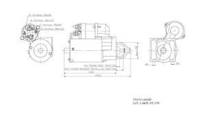 New Starter TYC 1-06483