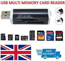 Lector de tarjeta de memoria USB Multi-SD/SDHC/SDXC/Mini SD/Micro M2/MMC/XD Reino Unido Vendedor