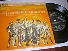 WILLIAM WYLER'S THE BIG COUNTRY 4 TRACK EP  GREGORY PECK UA UEP 1014 1959 EXCELL