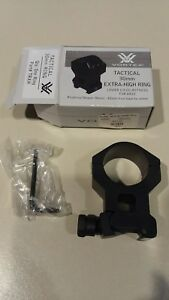 Vortex 30mm Tactical Riflescope Ring Extra High TRXH - ONE RING NEW!!