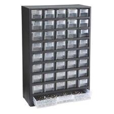 Plastic 40 Drawer Mini Small Parts Screw Bin Organizer Cabinet Container Box