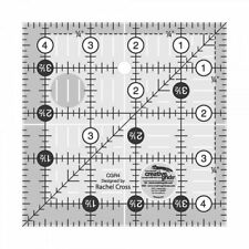 """Creative Grids Quilting Ruler 4 1/2"""" Square"""