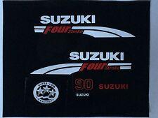 Suzuki 90 FourStroke Outboard Engine Decal Kit MARINE VINYL