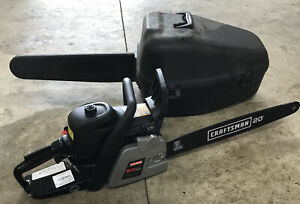 CRAFTSMAN 50cc 2-Cycle Gas Chainsaw 20 In. with Bar & Case SIMPUL Technology xxx