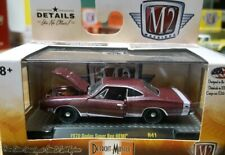 M2 1970 Dodge Super Bee Hemi  Purple 1/64 Detroit Muscle LIMITED EDITION